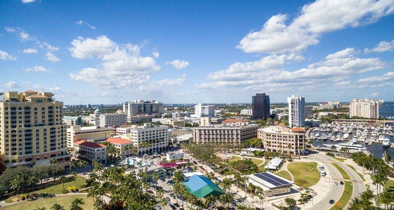 Florida City Birdseye View